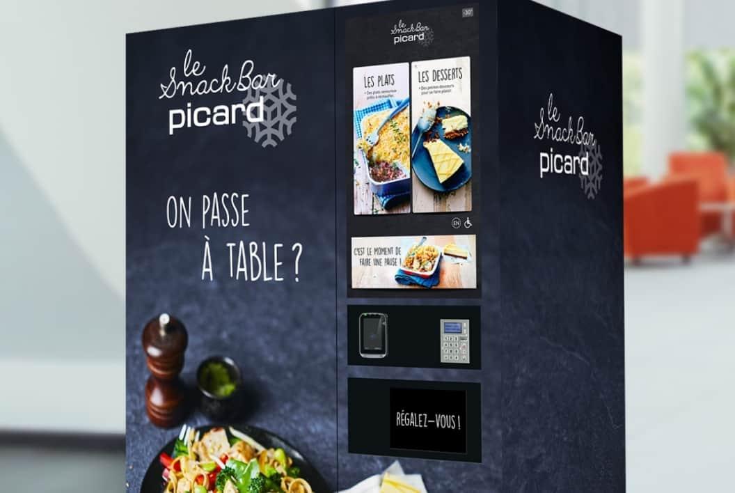 Sofrilog accompagne Picard sur le lancement de ses distributeurs automatiques en France