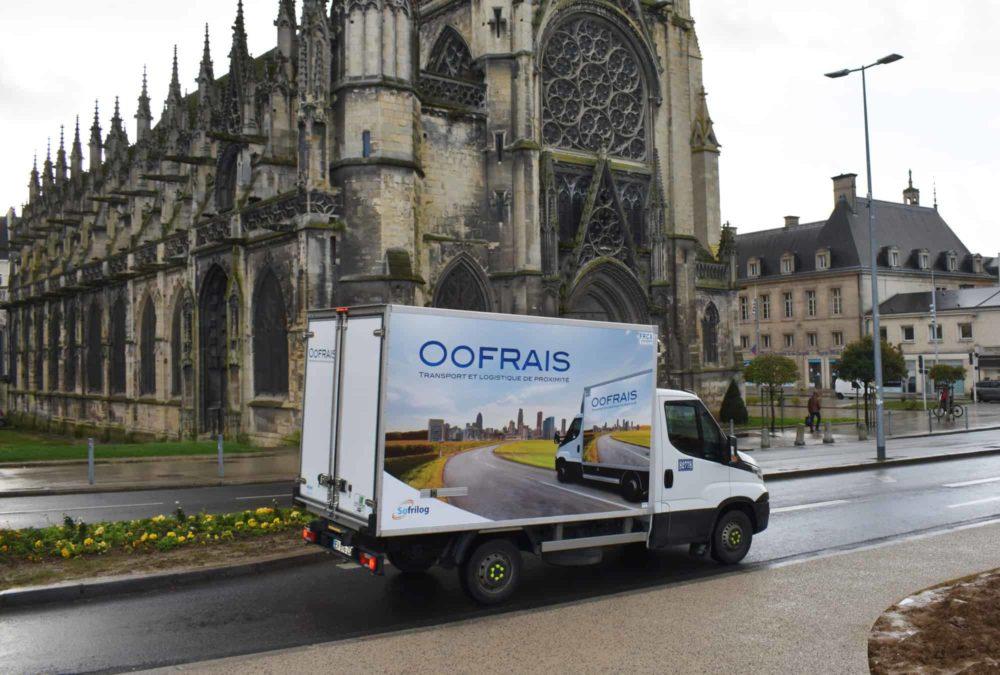 OOFRAIS, filiale du Groupe SOFRILOG, lance sa nouvelle offre de livraisons en centre-ville disponible depuis janvier 2021 en Normandie