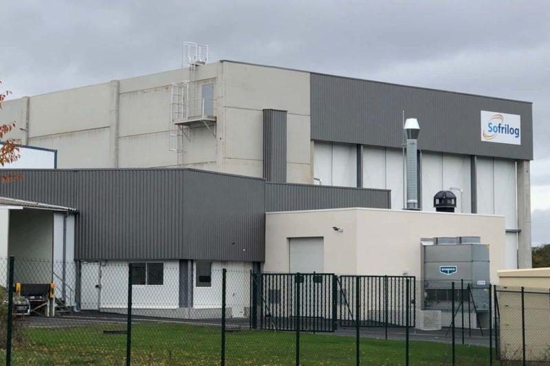 SOFRILOG Vire : un nouvel entrepôt dédié au stockage de matières premières pour l'alimentation animale.